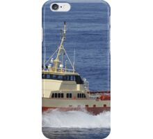 Offshore supply vessel iPhone Case/Skin