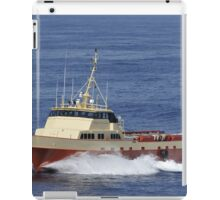Offshore supply vessel iPad Case/Skin
