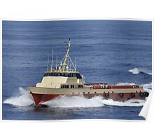 Offshore supply vessel Poster