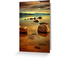 Tahoe Zen Greeting Card