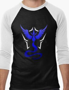 Pokemon Go Team Mystic Men's Baseball ¾ T-Shirt