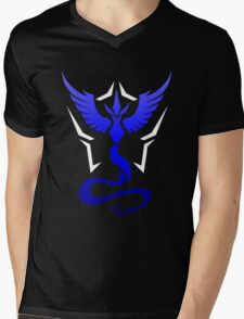 Pokemon Go Team Mystic Mens V-Neck T-Shirt