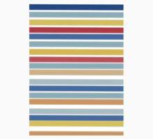 Colorful Stripe Kids Tee