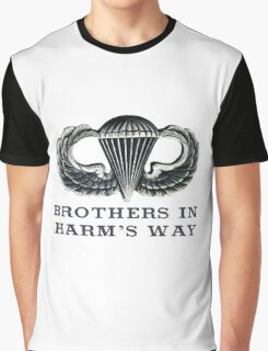 Jump Wings - Brothers in Harm's Way Graphic T-Shirt