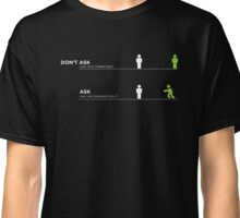 Zombie Questions Classic T-Shirt