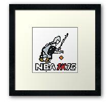 NBA 1K16 Framed Print