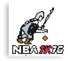 NBA 1K16 Canvas Print