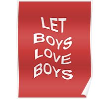 LET BOYS LOVE BOYS Poster