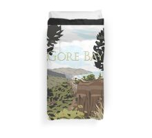Gore Bay, NZ by Ira Mitchell-Kirk Duvet Cover