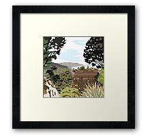 Gore Bay, NZ by Ira Mitchell-Kirk Framed Print