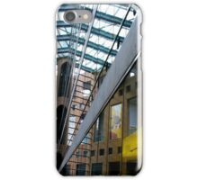 Vancouver, BC: Reflections in a Library iPhone Case/Skin