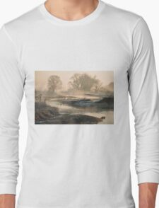 In To The Mystery - Sunrise At White Rock Long Sleeve T-Shirt