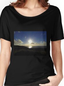 Leaving Horn Head.............................Donegal Women's Relaxed Fit T-Shirt
