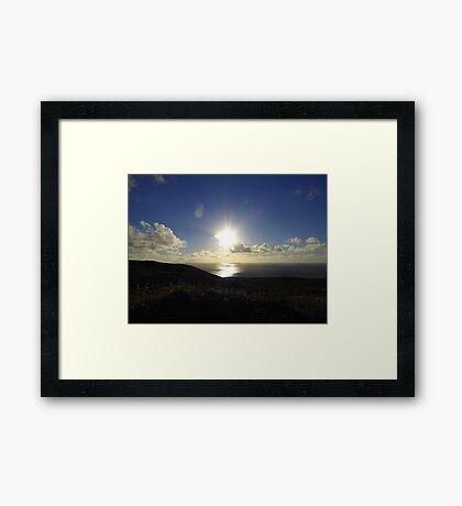 Leaving Horn Head.............................Donegal Framed Print