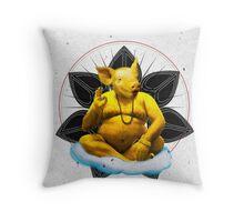 Sant Bacon Throw Pillow