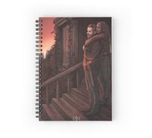 """""""Everything we need is right here inside these walls..."""" Spiral Notebook"""