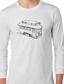 The Trolley (Artistic) Long Sleeve T-Shirt