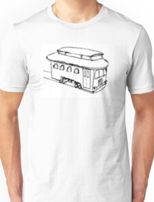 The Trolley (Artistic) Unisex T-Shirt