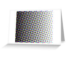 Colorful Pattern 3 Greeting Card