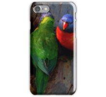 Nest building iPhone Case/Skin