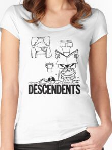 Descendents - Everything Sucks Women's Fitted Scoop T-Shirt