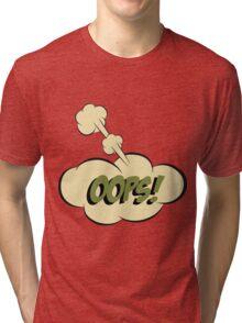 Pop-Art Style Tri-blend T-Shirt