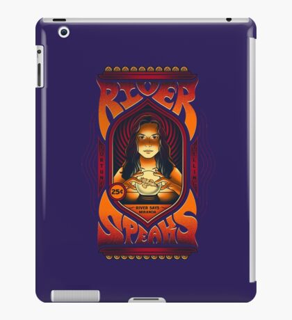 River Speaks iPad Case/Skin