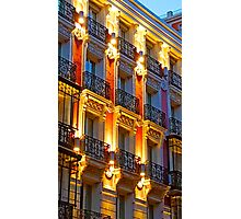 Madrid balconies Photographic Print