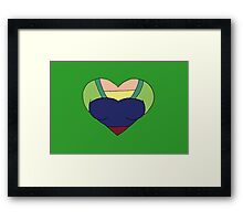 A Courageous Heart Framed Print