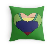A Courageous Heart Throw Pillow