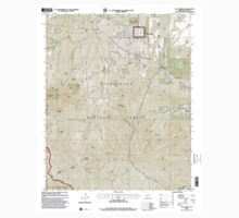 USGS TOPO Map Arizona AZ Clay Springs 310916 1998 24000 One Piece - Short Sleeve