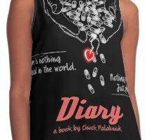 Diary, a book by Chuck Palahniuk Contrast Tank