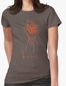 Half-Life 2 - Born graffiti Womens Fitted T-Shirt