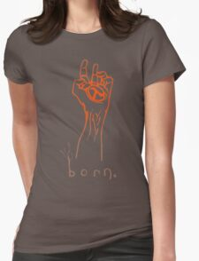 Half-Life 2 - Born graffiti Womens Fitted T-Shirt
