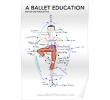 Notes on Pirouettes by A Ballet Education Poster
