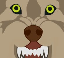 gta wolf Sticker
