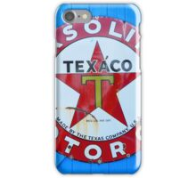Texaco star iPhone Case/Skin