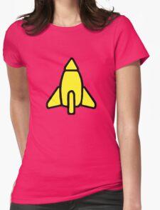 Reggie Rocket Womens Fitted T-Shirt