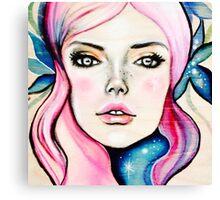 Cosmic Girl Canvas Print