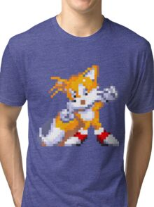 """Miles """"Tails"""" Prower Tri-blend T-Shirt"""