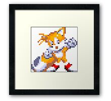 """Miles """"Tails"""" Prower Framed Print"""