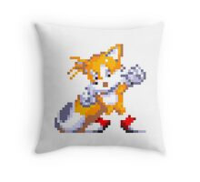 """Miles """"Tails"""" Prower Throw Pillow"""