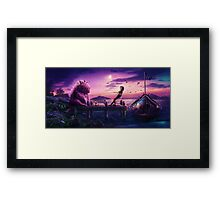 Imaginary Friends Framed Print