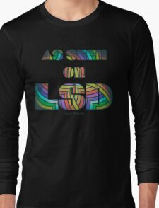Retro Cool Party Psychedelic LSD Design  Long Sleeve T-Shirt