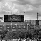 Texas Ranger Stadium by Michael McCasland