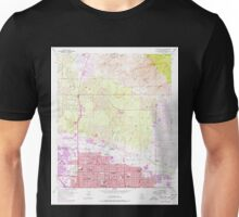 USGS TOPO Map Arizona AZ Tucson North 313831 1957 24000 Unisex T-Shirt