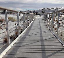 White Sand boardwalk by jcmeyer