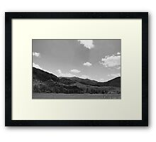 Fines Creek Community, NC Framed Print