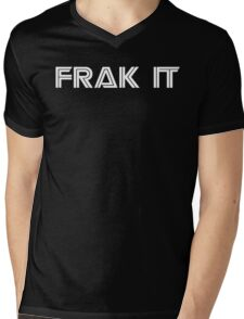 FRAK IT BSG Mens V-Neck T-Shirt