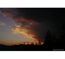The Oncoming Storm Photographic Print